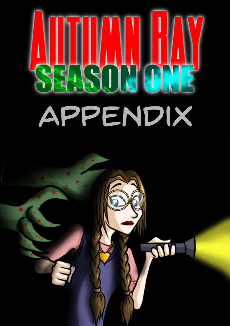Season One Appendix Cover
