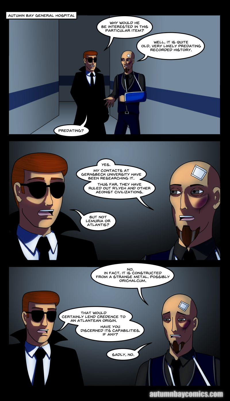 The Origin of the Gauntlet